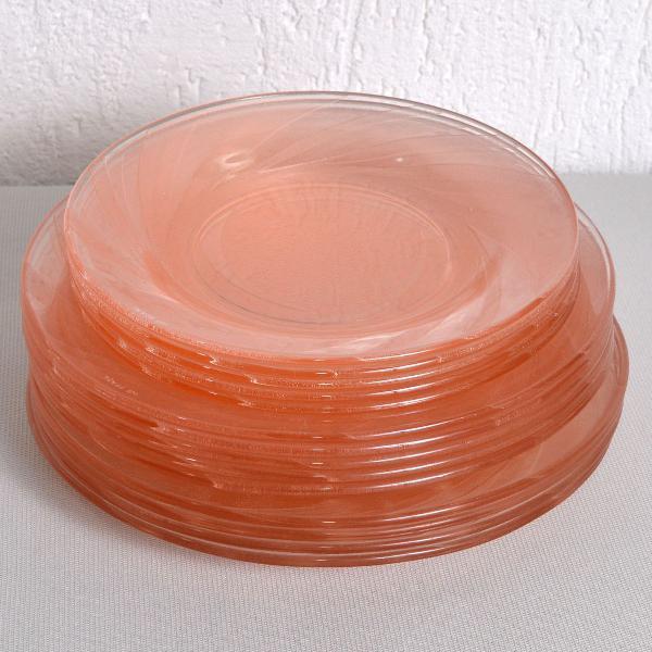jogo pratos nadir rosa 14 peças