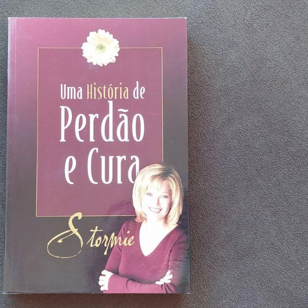 livro uma história de perdão e cura