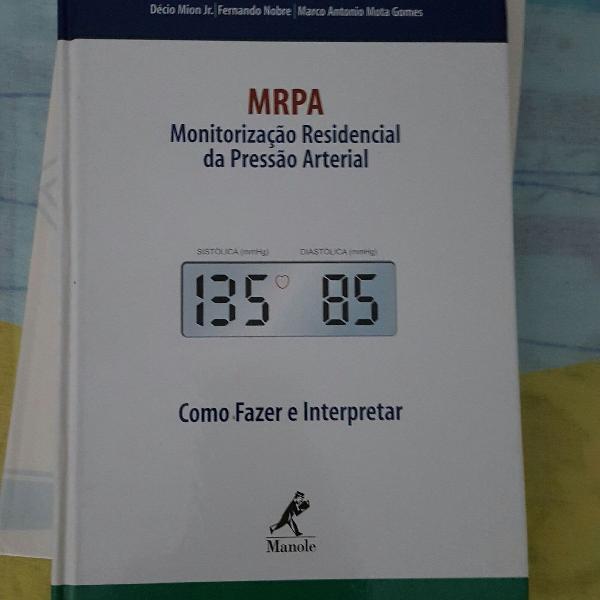 monitorização residencial de pressão arterial