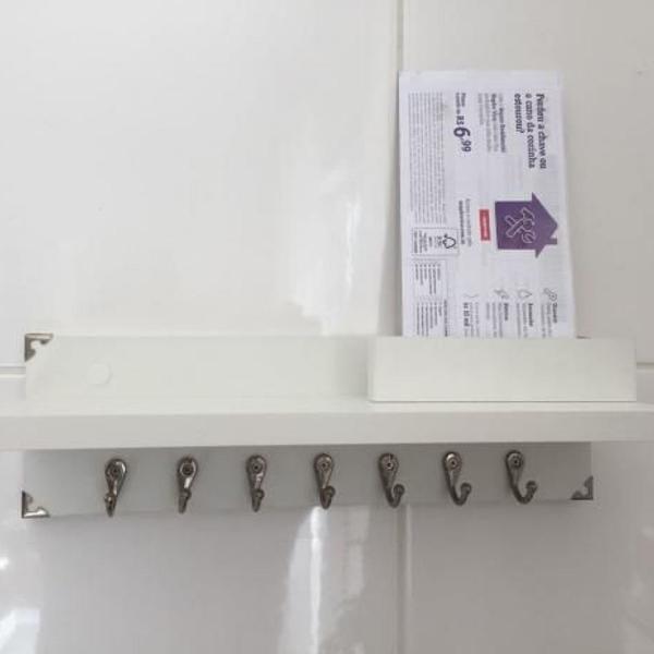 porta chaves 3.0 para decoração com kit de instalação
