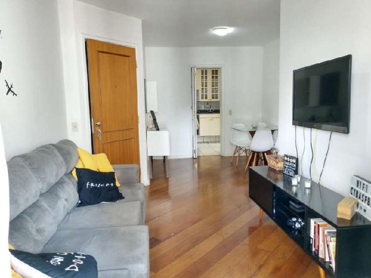 Apartamento para venda com 75m2, 2 dormitórios sendo 1