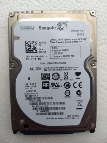 HD 500gb Seagate Notebook