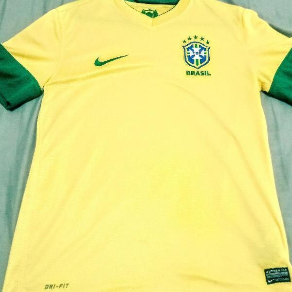 camisa seleção brasileira dri-fit Nike original m