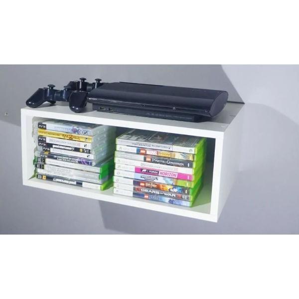 nicho para video - game (p) para decoração com kit de