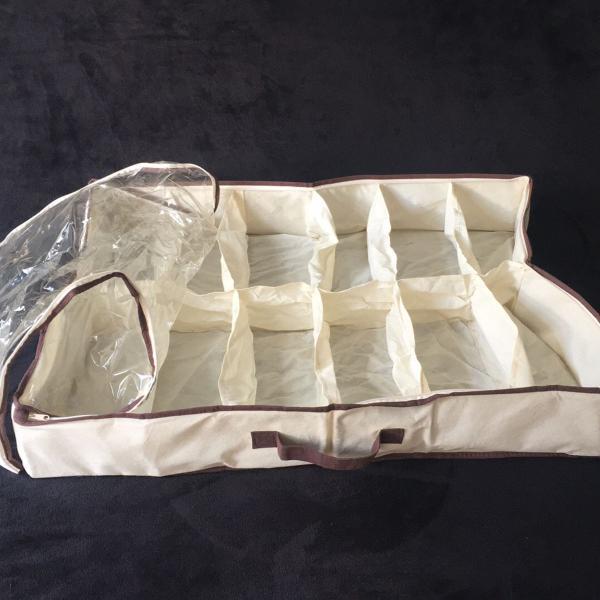 sapateira flexível organizadora de sapatos para 12 pares
