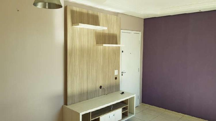 Apartamento mobiliado para venda tem 61m² com 3 quartos em