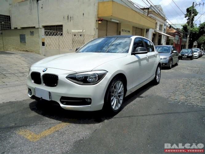 BMW 118i Sport Line 1.6 Turbo Ano 2012 impecável de nova e