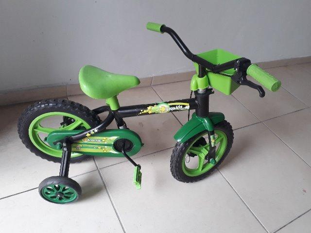 Bicicleta Infantil Aro 12 Arco Iris