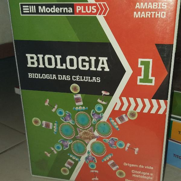 Biologia: box de livros, volumes 1 e 2