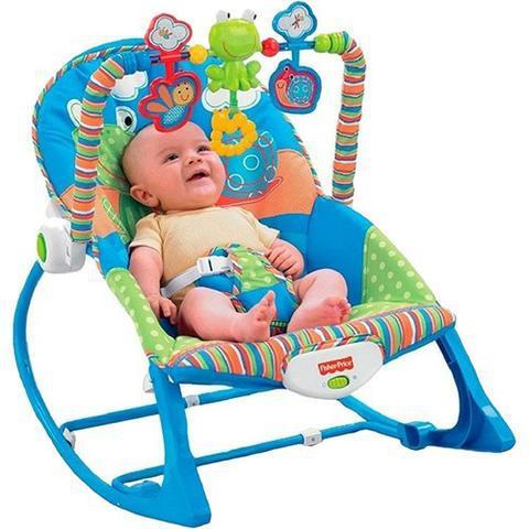 Cadeira Crescendo Comigo Sapinho Fisher Price
