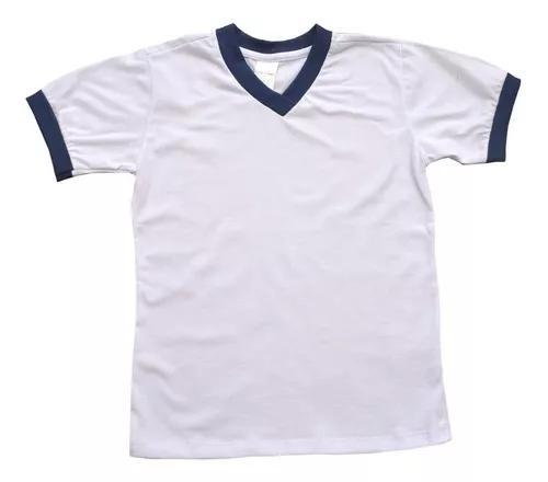Kit 5 Camisetas Infantil Escolar Uniforme