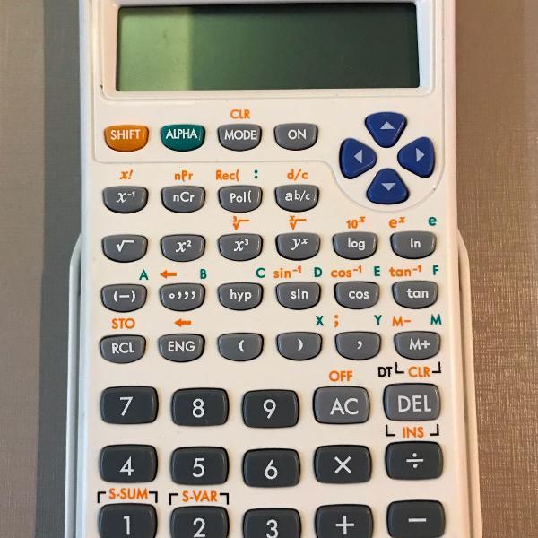calculadora científica hp 10s - 240 funções - original