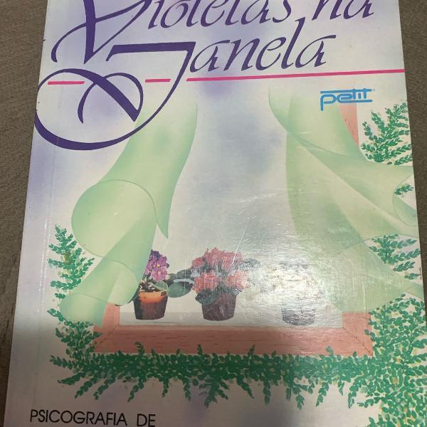 livro violetas na janela - vera lúcia marinzeck de carvalho