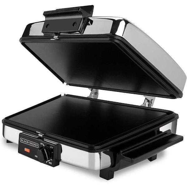 máquina de waffle 3 em 1 black & decker g48td