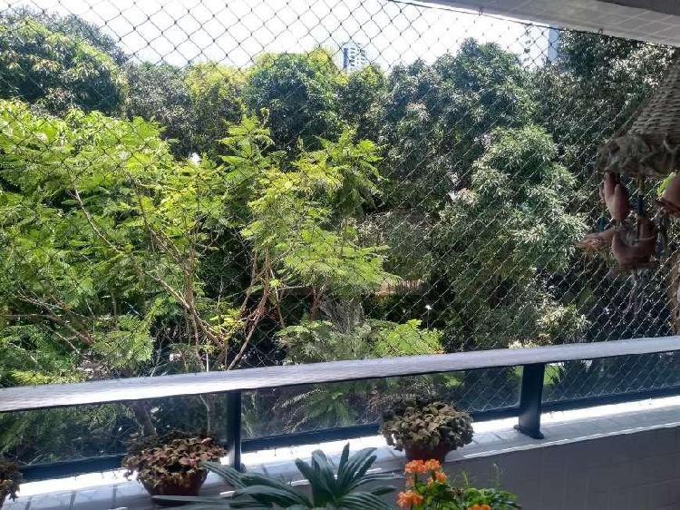 Apartamento 4 qts 2 suites e venda em Casa Forte 137M² com