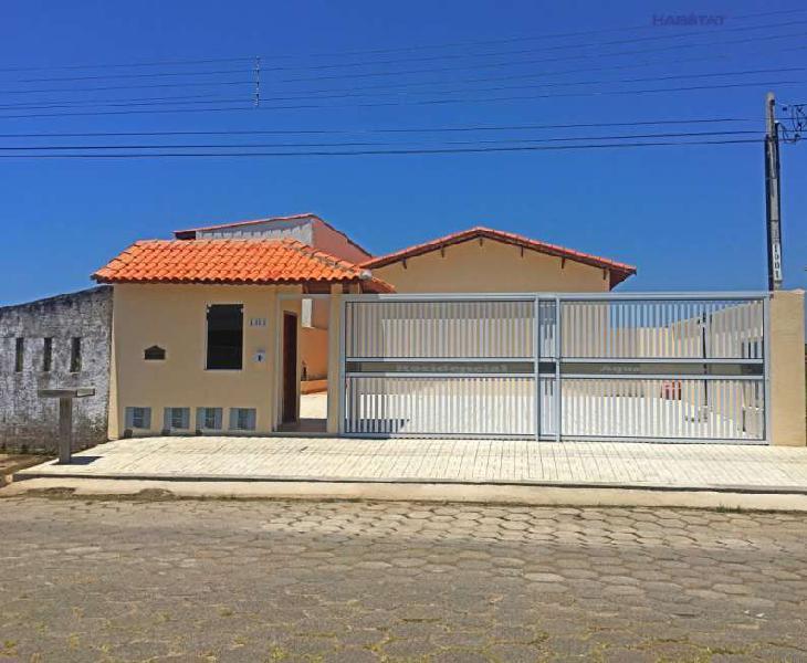Casa nova em condomínio em Itanhaém/SP