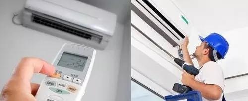 Instalação De Ar Condicionado Split De 7.000 Btus A 12.000
