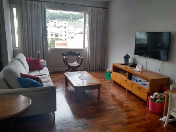 Leblon 3 quartos, 1 suíte,vista livre, 130m², dependência