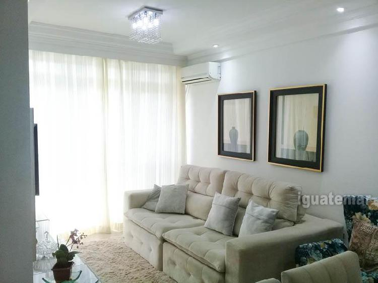 Guarujá PRAIA DAS ASTÚRIAS Apartamento para venda com 97