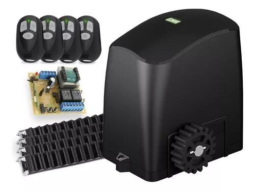 Kit Motor Deslizante 1/4 Rcg 4 Controles 4,2m Cr
