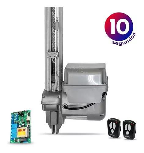 Kit Motor Portão Eletrônico Basculante Bv Duo 1/4 Garen