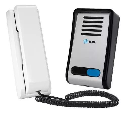 Kit Porteiro Eletrônico Hdl F8-s Com Interfone Az-s