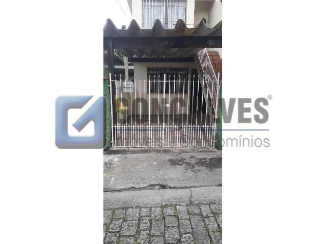 Locação Casa Terrea Sao Bernardo do Campo Centro Ref: