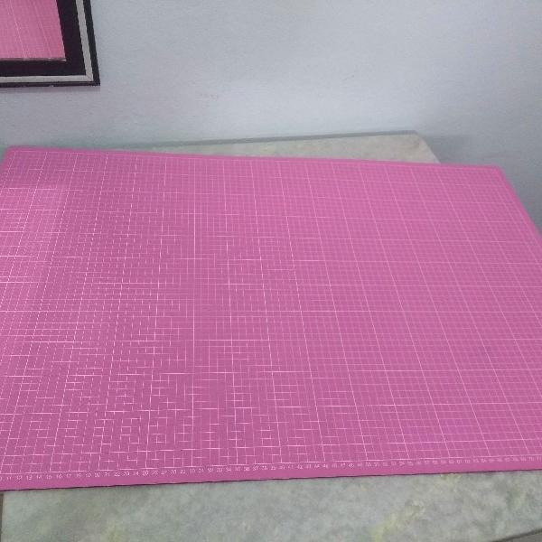 Placa de Corte Rosa 90 x 60 cm Patchwork