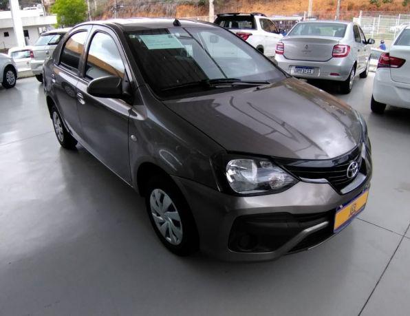 TOYOTA ETIOS X Sedan 1.5 Flex 16V 4p Aut. Flex - Gasolina e