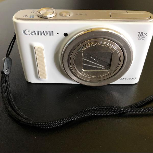 camêra canon powershot sx610 hs