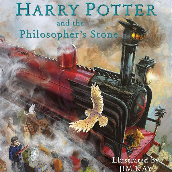 harry potter and the philosopher's stone: illustrated