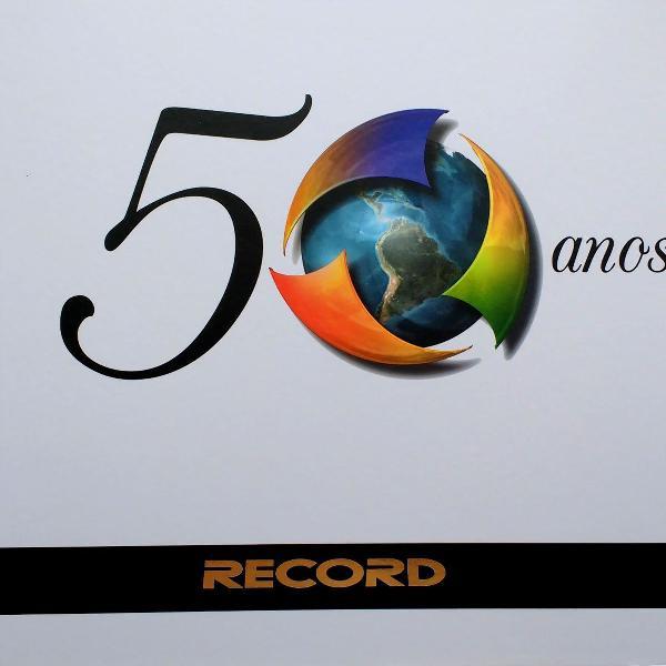 livro: record 50 anos