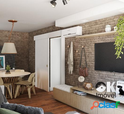 Apartamento: 100m², 2 quartos e 1 vaga – Reformado