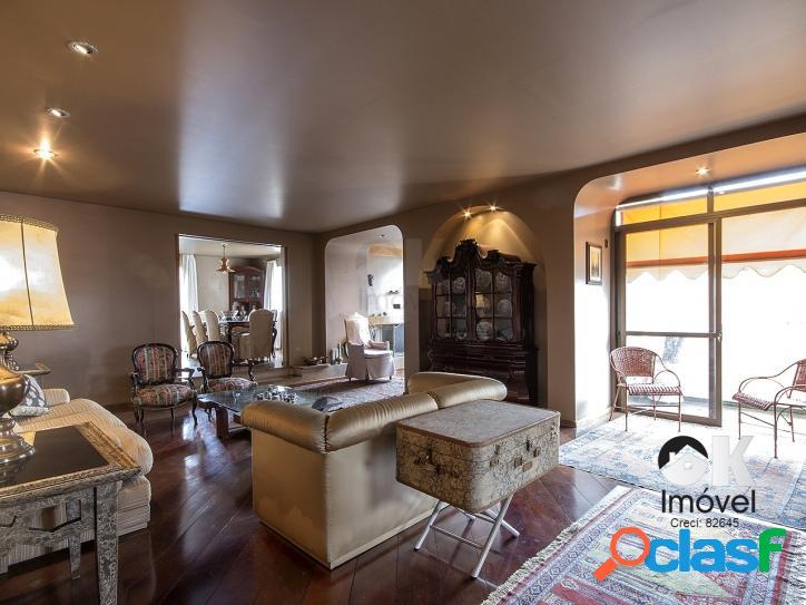 Apartamento: 290m², 4 suítes e 3 vagas – Jardim Paulista