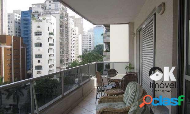 Apartamento: 320m², 4 suítes e 3 vagas – Jardim Paulista
