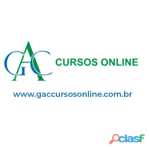 Cursos Online com Certificado | Inscreva se Agora | GAC
