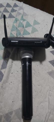 Microfone S/ Fio Shure Svx24br Pg58 J9 De Mão