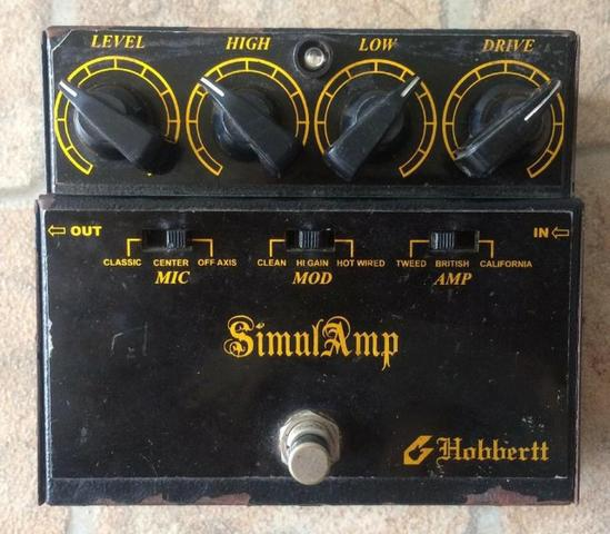 Pedal Hobbertt Simulamp (Fender, Marshall, Mesa Boogie -