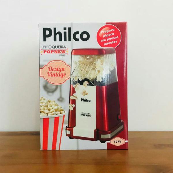 pipoqueira design vintage maquina pipoca popcorn 127v / 110v