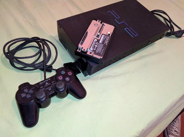 PS2 fat completo