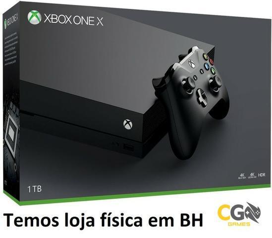 Xbox One X 4K 1TB Novo Lacrado na Caixa com Garantia -