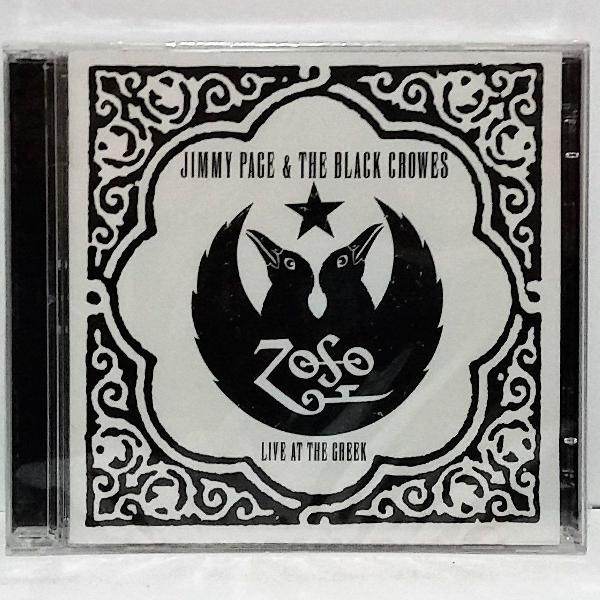 cd jimmy page / the black crowes live at the geek lacrado