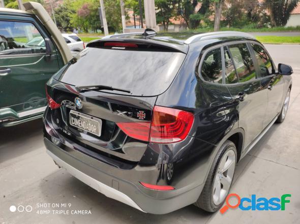 BMW X1 SDRIVE 20I 2.02.0 TB ACTI.FLEX AUT. PRETO 2014 2.0