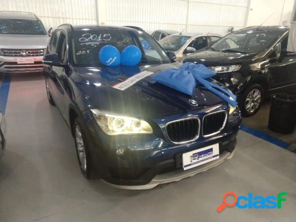 BMW X1 SDRIVE 20I X-LINE 2.0 TB ACTIVE FLEX AZUL 2015 2.0