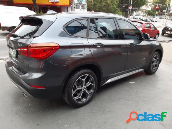 BMW X1 SDRIVE 20I X-LINE 2.0 TB ACTIVE FLEX CINZA 2017 2.0