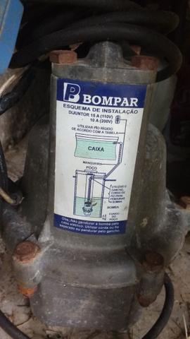 Bomba de água submersa - bomba sapo