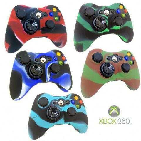 Capa de silicone Xbox 360 - Aceito cartão - Entrego
