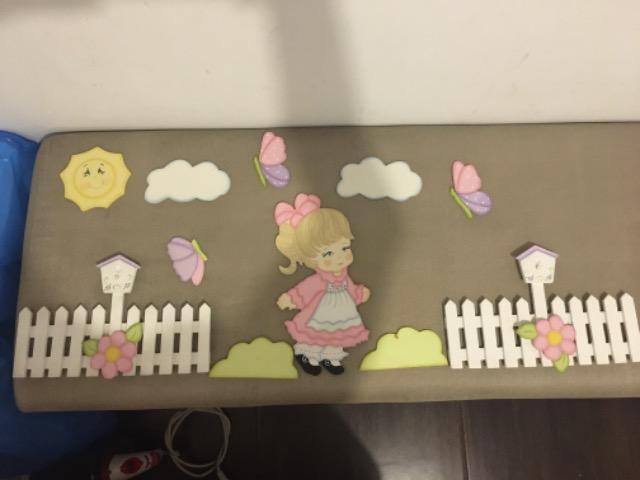 Cenário de quarto de bebê ou infantil