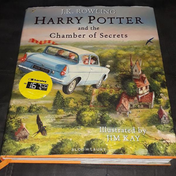 Câmera Secreta - Harry Potter ILUSTRADO