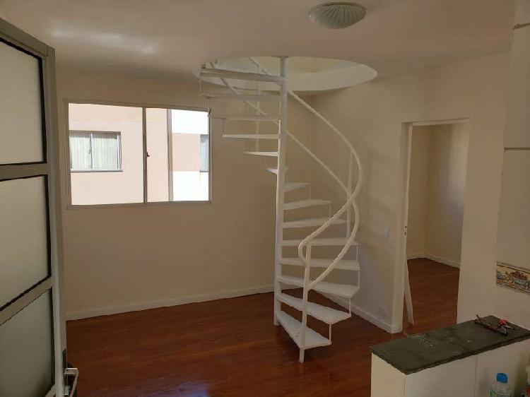 Cobertura para venda tem 85 metros quadrados com 2 quartos